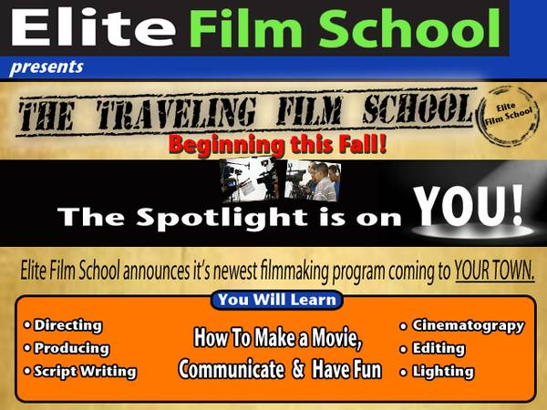 Do you want to learn to make movies in 1 week   Your school