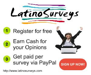 Join Latino Surveys  Earn cash for each survey completion  redeem with PayPal