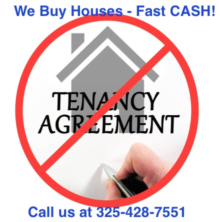 Tired of Being a Landlord -CALL US - We Buy ABILENE Houses Fast