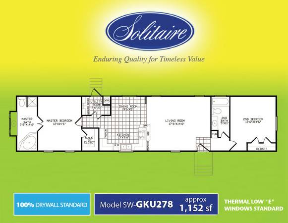 New Solitaire Singlewide homes (Abilene Texas )