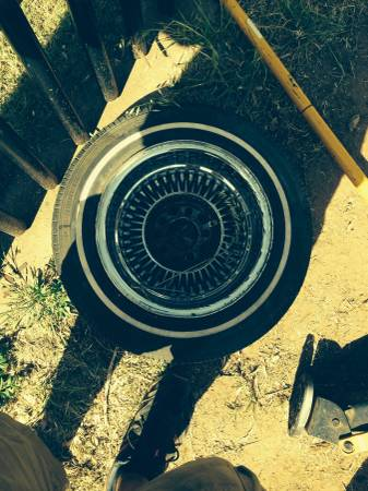 Low rider spoke rims and tires  Abilene