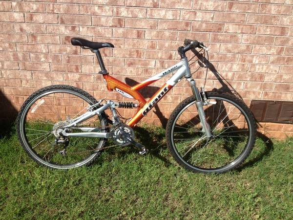 Giant WARP DS-two mountain bike - $150 (Buffalo Gap)