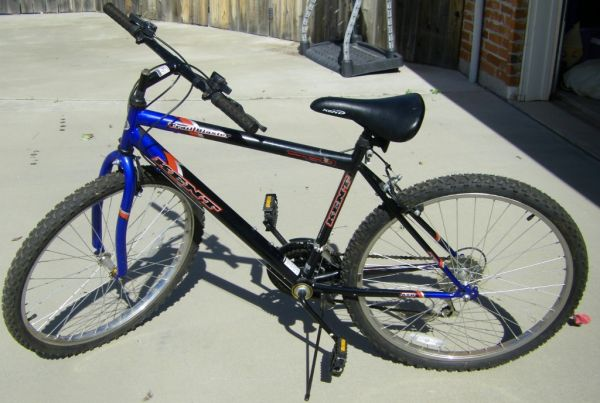 Mens 26,15 spd Kent Trail Blaster, BlueBlack - $135 (Pack Saddle Prairie, Abilene)