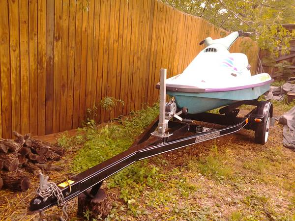 95 Arctic Cat Tigershark Jet Ski with Roadmaster Trailer - $1400 (San Angelo)