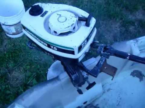 Sears Gamefisher 7.5 HP Outboard - $50 (Snyder)