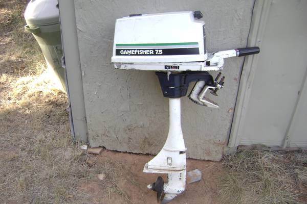 Gamefisher 5hp Outboard Motor For Sale