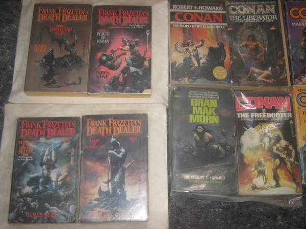 BARBARIAN PAPERBACK LOT FOR SALE -   x0024 10  Cisco Tx