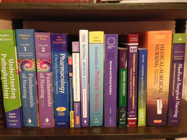 Nursing School Textbooks  -   x0024 350  near ACU PHSSN