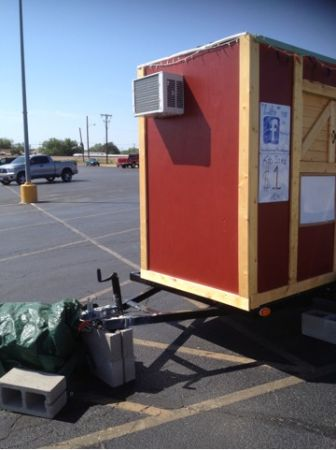 Snow Cone Trailer - $8000 (Sweetwater, Texas)