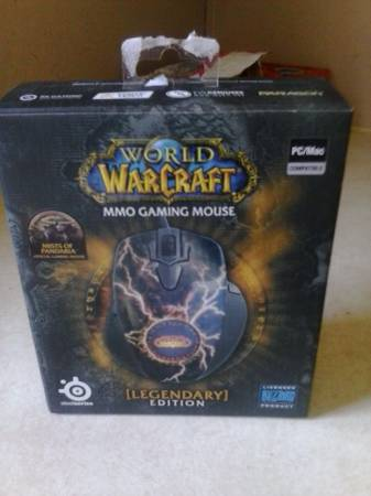 MOP legendary Gaming mouse new in box -   x0024 50  tye