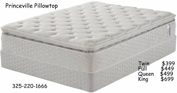 Queen Size Super Pillowtop Brand New - $499 (Abilene)