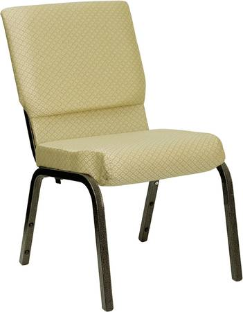NEW Fabric Stacking Church Chairs - 800 Lbs. Capacity - 13 Fabrics - $49 (Carrollton - Office Furniture Connection)