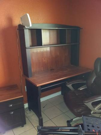 computer desk matching file cabinet 1yr old - $100 (abilene)