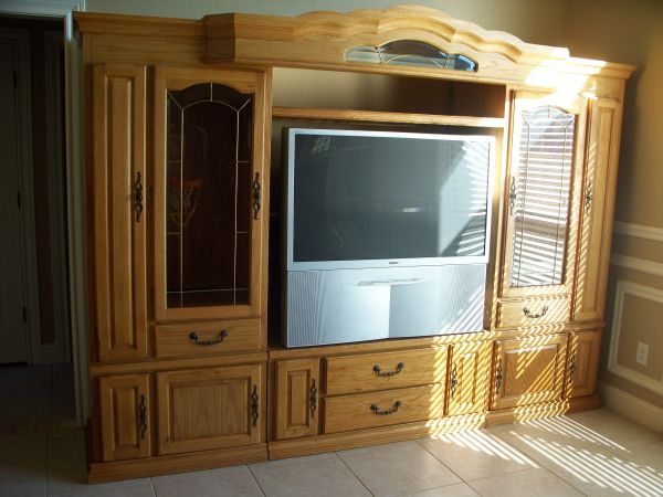 Nice Big Entertainment Center from Oak Express - $1200 (AbileneTuscola)