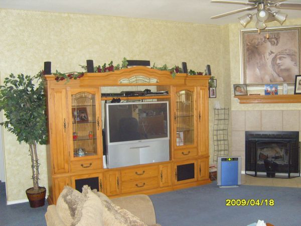 Very Nice Entertainment Center from Oak Express - $1650 (AbileneTuscola)