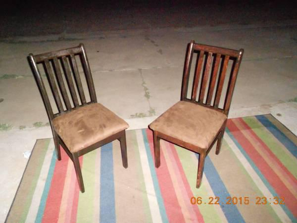 60  matching wood chairs