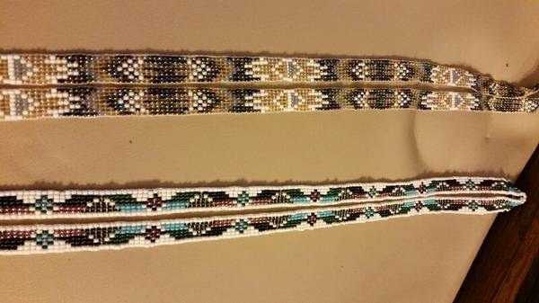 Native American style handloom beaded lanyard -   x0024 25  3709 Westchester Dr
