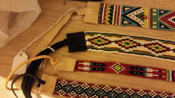 Native American style hatbands  3709 Westchester drive