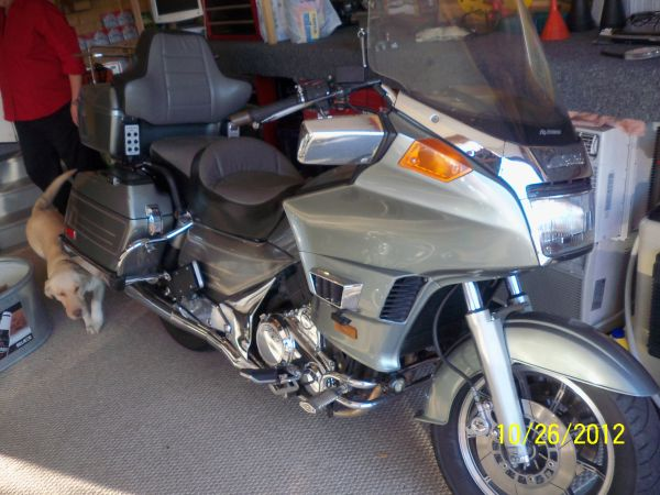 Motorcycle to trade for RV