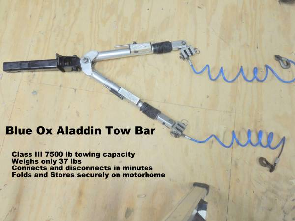 Blue Ox Tow Bar -   x0024 350
