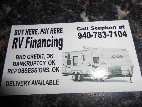 SWAP YOUR OLD RV FOR A NEW ONE     WE WILL TAKE ANY TRADE