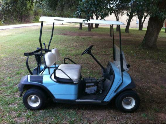1995 EZ GO Golf Cart - $1000 (Haskell)