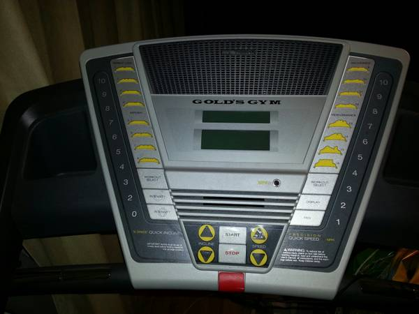 Golds Gym Crosswalk 570 treadmill - $375 (Abilene)