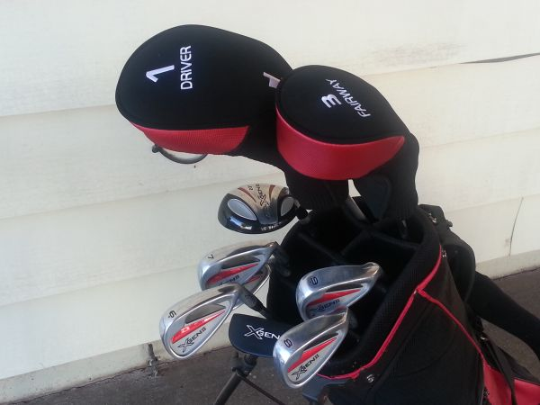 TiTech Golf Clubs with Stand Bag (Abilene)