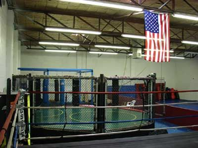 MMA CAGE FOR SALE MAKE DESCENT OFFER AND ITS YOURS - $4500 (ODESSA)
