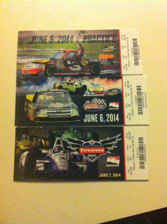 Tickets for texas motor speedway races 200 soutside for Apartments near texas motor speedway