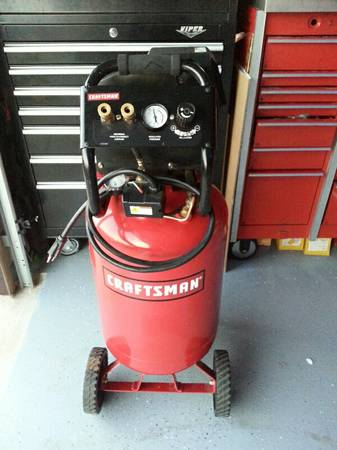 Craftsman Air Compressor Like New - $175 (Abilene tx 79602)