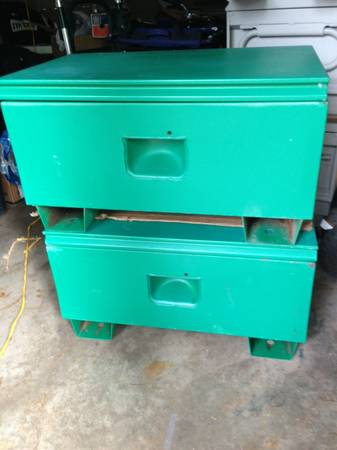 GREENLEE TOOL BOXES JOB BOXES - $125 (Abilene)