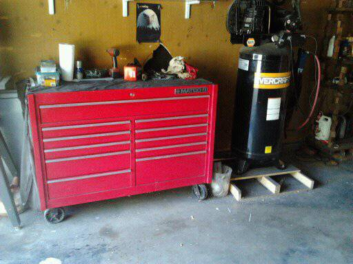 matco box ,tools, air compressor  - $5500 (abilene)