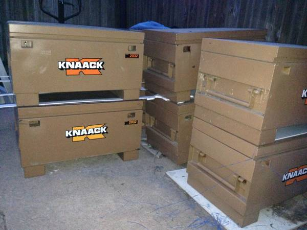 KNAACK AND GREENLEE TOOL BOXES JOB BOXES - $125 (abilene)