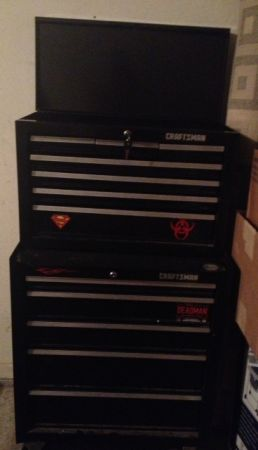 Craftsman 26 in. 12 drawer tool chest - $200 (Brownwood)