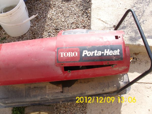 SHOP HEATER - $125 (LAWN, TX)