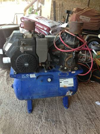 Cbell Hausfeld CI12G030HB Kohler Command Pro 12.5 Gas Powered Air C - $1000 (Abilene )