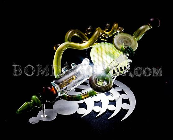 Custom functional glass art - x0024120