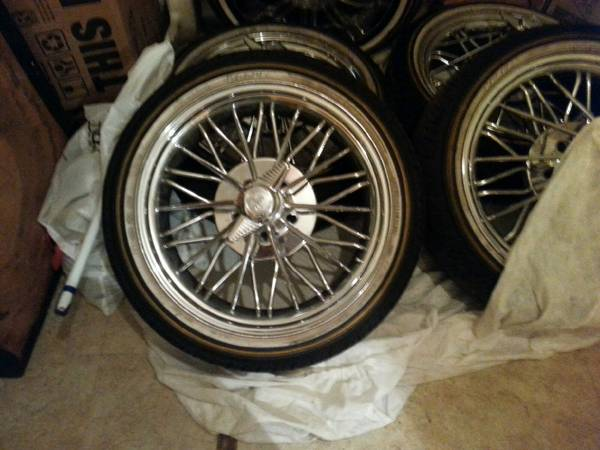 20 inch 84 swangas and vogues with 5th wheel - x00244000 (Abilene )