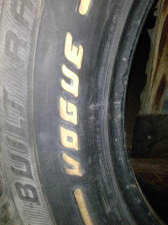 2 Brand New 16 inch VOGUE touring tires with nail gurd - $175 (Abilene)