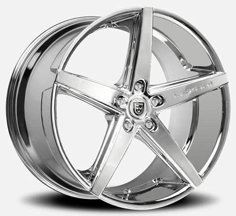 1 389  20 Lexani R-4 Chrome Wheels RIMS Staggerd 5 lug Set Special