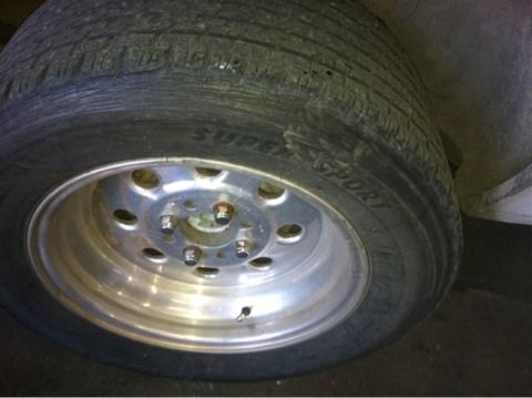 Weld 4 hole wheels fox body mustang set of 4 - $275 (Abilene )