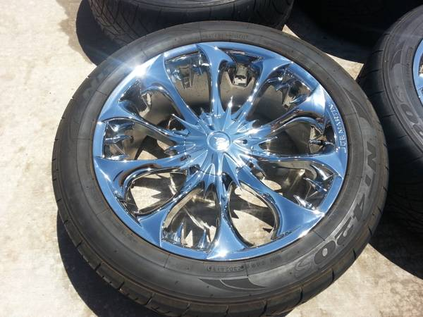 22in Joe Martin Wheels rims tires GMC Chevy 6 Lug - $1400 (Abilene tx)