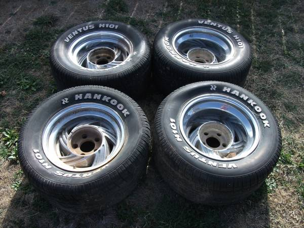 15 inch Chevy Rims - $50 (Dyess AFB)