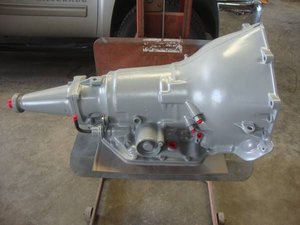 Rebuilt Chevrolet Turbo-350 Transmission with TransGo SK-350 Shift-kit - $500 (Merkel)