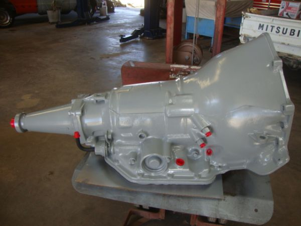 Rebuilt Chevrolet Long-Tail Turbo-350 Transmission with BM Shift-kit - $500 (Merkel)