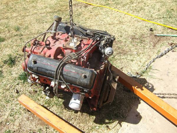 1954-1962 Ford Mercury y-block Engine reb. - $650 (5102 Oregon TrlAmarillo)