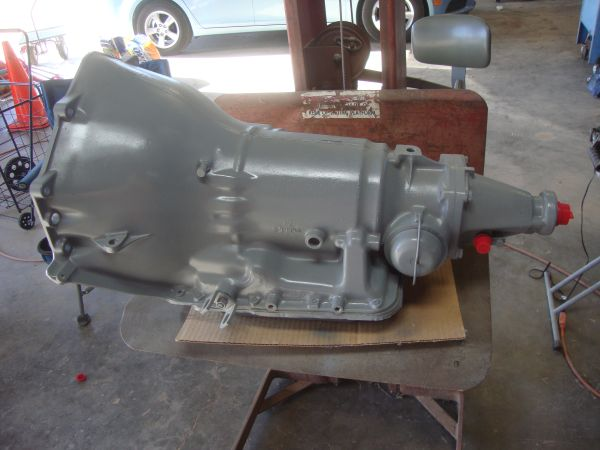 Rebuilt Chevrolet Turbo 350 Transmission with TransGo Shift-Kit - $500 (Merkel)