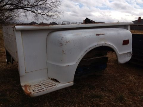 1972 chevy stepside bed with tailgate - $400 (Abilene)