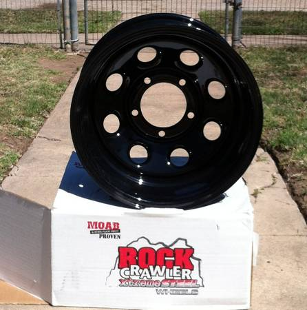 Pro Comp Rock Crawler Wheels - $225 (Abilene)